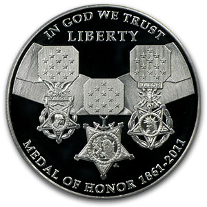 2011-P Medal of Honor $1 Silver Commemorative PR-70 DCAM PCGS